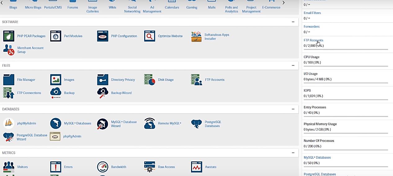 cPanel Admin access