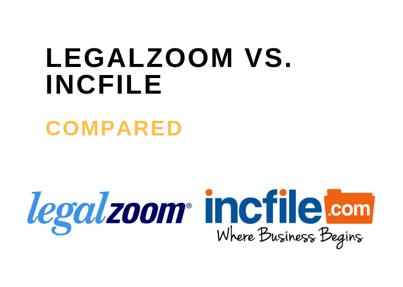 LEGALZOOM VS INCFILE