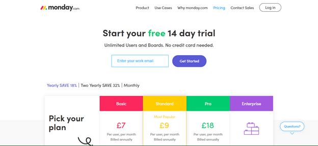 monday.com free trial