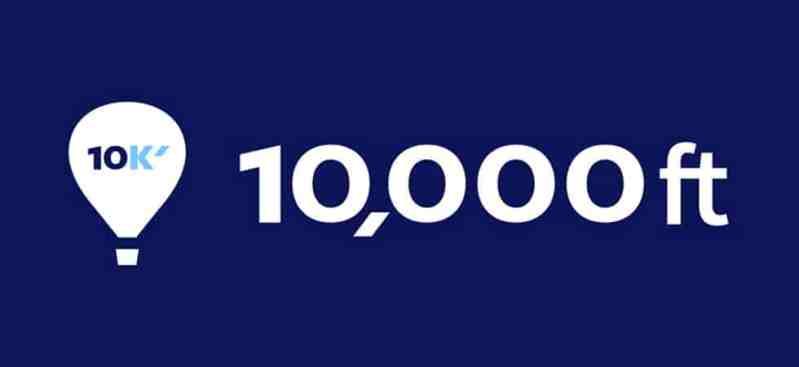 10,000 ft - project management software