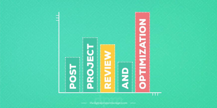 How to create a perfect project plan - post project review and optimize
