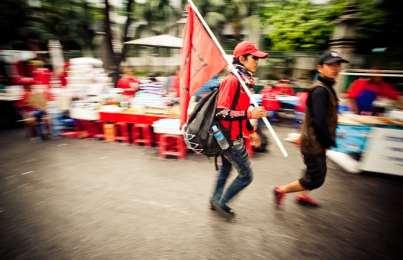 Red Shirts and Black Smoke