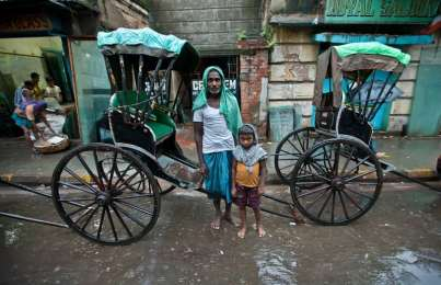 Multimedia: The Pull Rickshaws of Kolkata