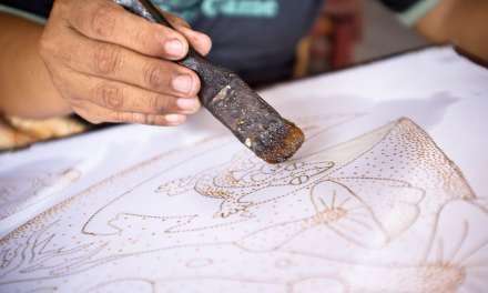 The batik artists of Jogja.