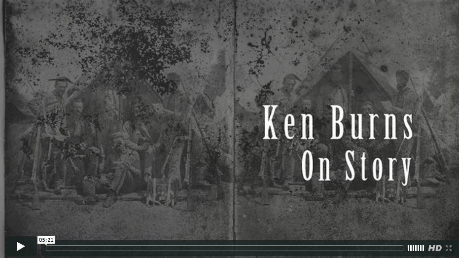 "Ken Burns, ""All story is manipulation"""
