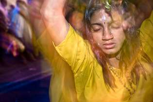 Thaipusam. Once in a trance or some say possessed by the Hindu god Murugan, many devotees find the strength to walk the pilgrimage of Thaipusam with their kavadi (burden).
