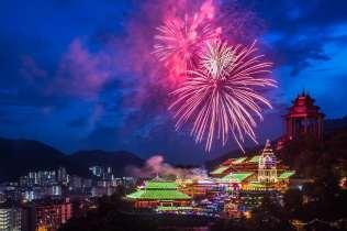 Chinese New Year at Kek Lok Si Temple, Penang