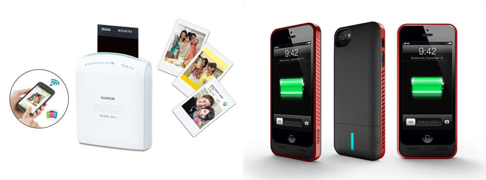 iBattz Mobile Power and Fujifilm Mobile Print Solution