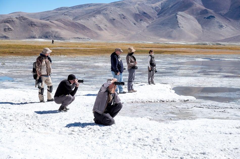 Tsokar Lake is a salt lake with many huge salt flats that the local nomads take advantage to harvest salt for their livestock.