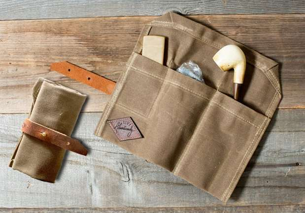 Bradley Mountain Pipe Roll Waxed Canvas