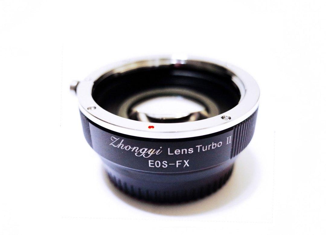 Zhongyi Lens Turbo for the Canon EF – Fuji X-Mount