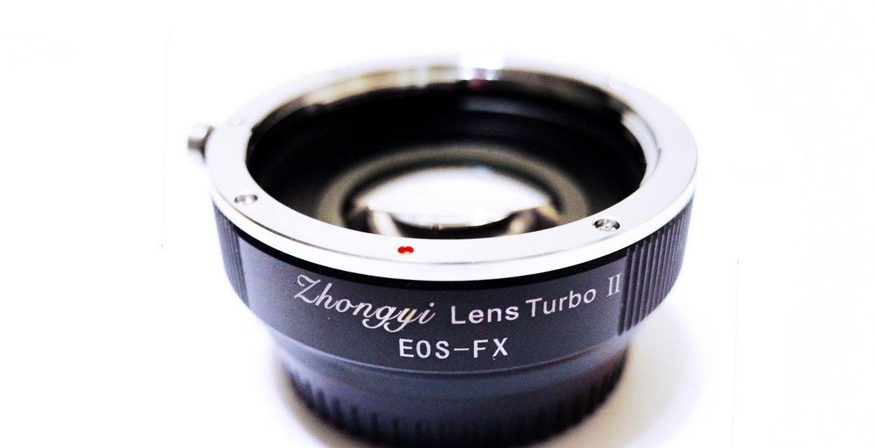 Review: Zhongyi Lens Turbo Adapters ver II for Fuji X mount cameras (FX)
