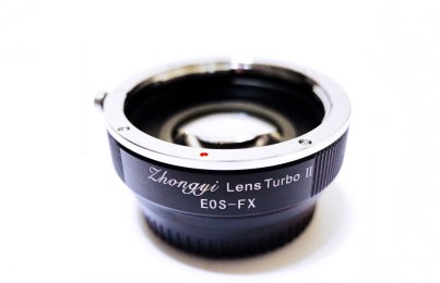 Review: Zhongyi Lens Turbo Adapters ver II for Fuji X mount cameras (FX)