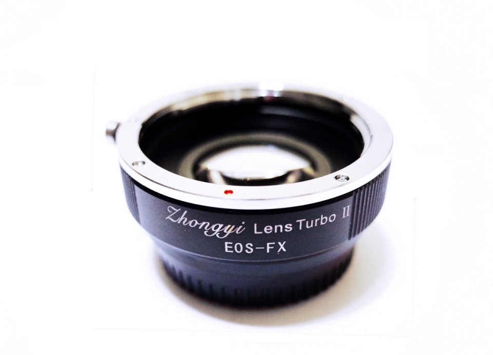 Zhongyi Lens Turbo for the Canon EF – Fuji X-Mount