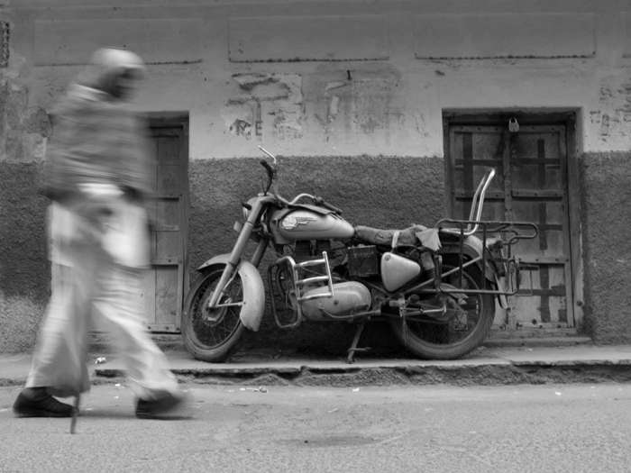 Royal Enfield, Pushkar, Rajasthan © George Neil