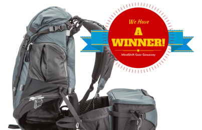 MindShift Gear Giveaway: We have a winner!