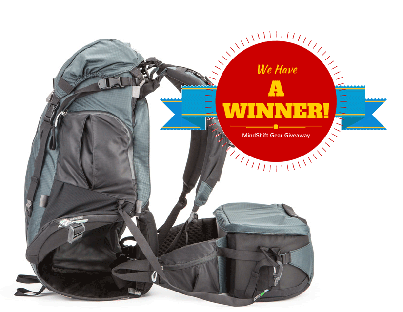 MindShift Gear Giveaway: We have a winner!