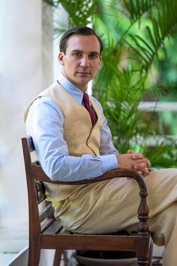 Actor Henry Lloyd - Hughes plays the lead character, Ralph.