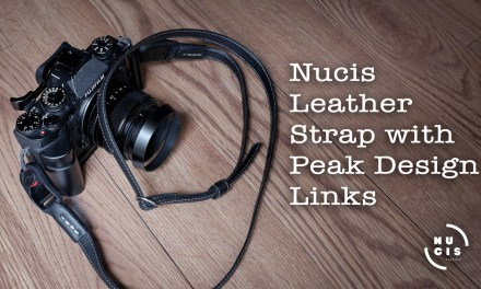 Nucis Leather Strap  with Peak Design Links