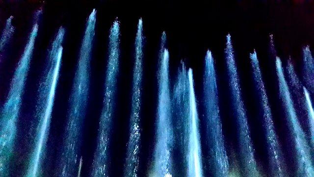 Die Magie von Wasser bei der Wassershow in der Autostadt. Foto: L.Güntsche