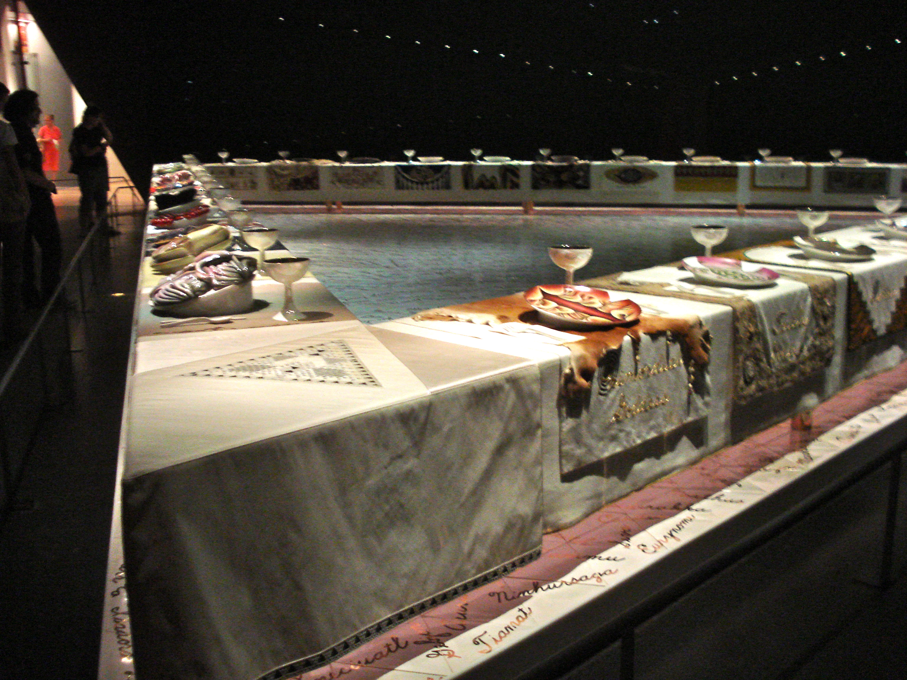 """Judy Chicago's """"The Dinner Party"""""""