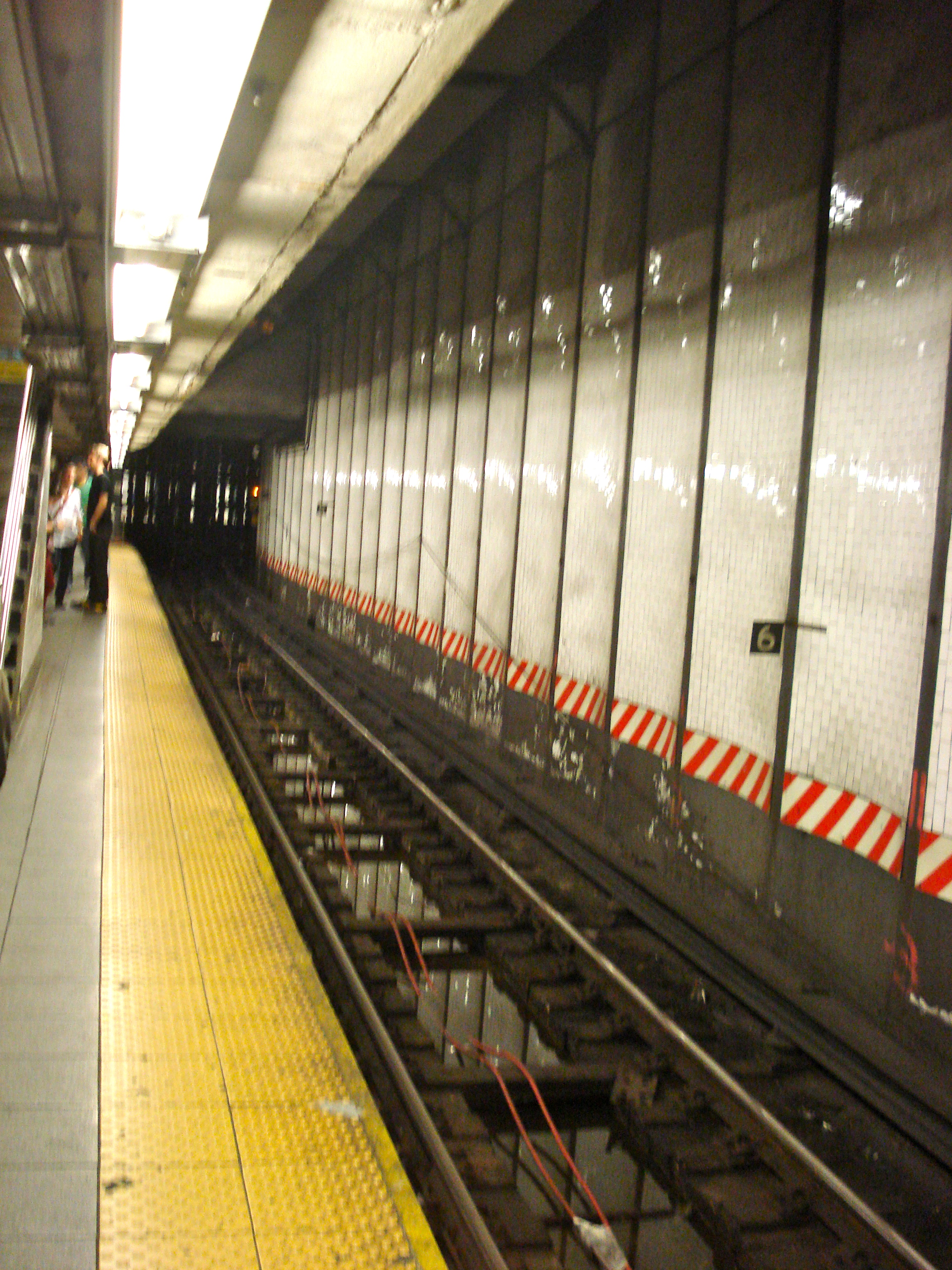 Waiting for the subway to take me...somewhere...