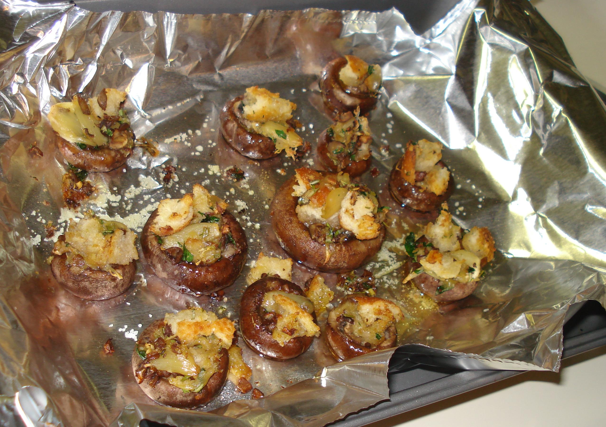 Mm, hot juicy mushrooms.