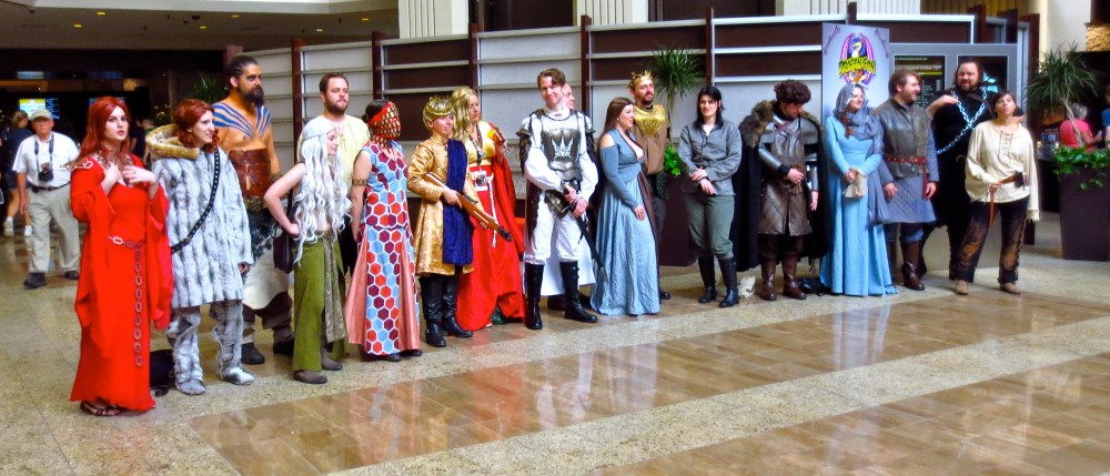 Dragon*Con 2012 Recap: Sunday Game of Thrones Photoshoot (2/6)