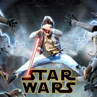 Photoshop Lessons - How To Photoshop Your Gremlin Kids Into A Star Wars Poster