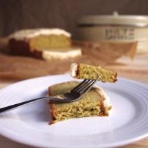 Avocado loaf cake