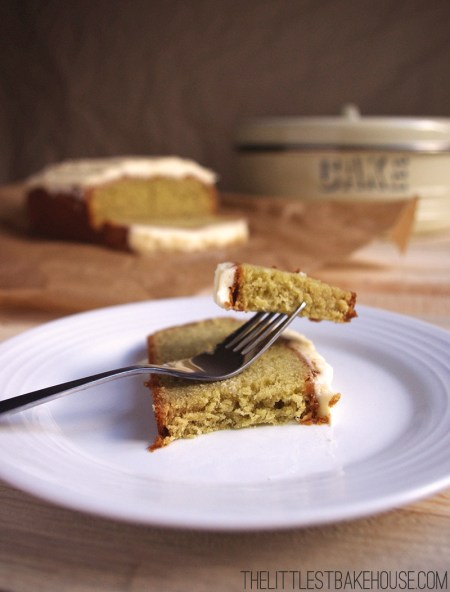 Avocado loaf cake | The Littlest Bakehouse