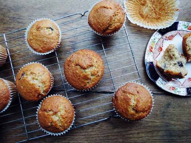 Brown Butter, Chocolate and Hazelnut Muffins {Guest Post from The Cake Hunter} | The Littlest Bakehouse