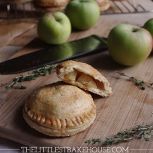 Honey apple hand pies with thyme