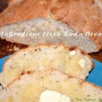 4-Ingredient Irish Soda Bread