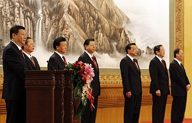 China: The Eclipse of the Politburo