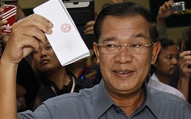 New Hun Sen Threats as Cambodia's Sham Election Nears