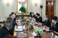 Roh 'Joe-Yoshi' Mendukung Aliansi Jepang-AS di Laut yang Bergejolak