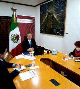 Ebrard and Toscano connected to the G20 Extraordinary Meeting