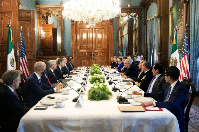 Mexico-US High Dialogue to make the Joint Declaration