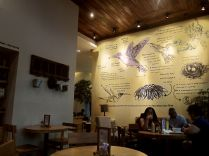Interior of Hummingbird Eatery.