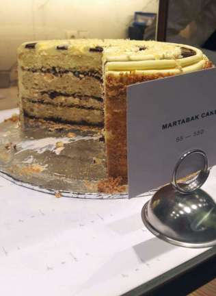 Martabak Cake (photo credits: Zomato)