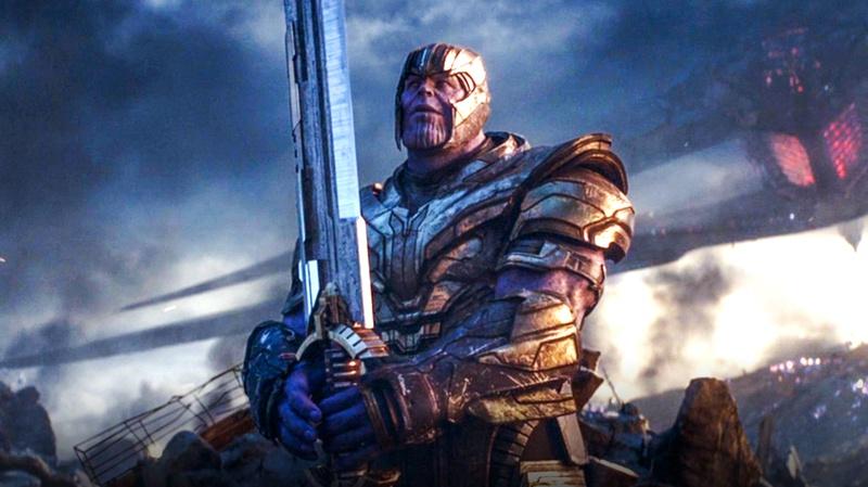 Avengers Endgame Thanos Battle