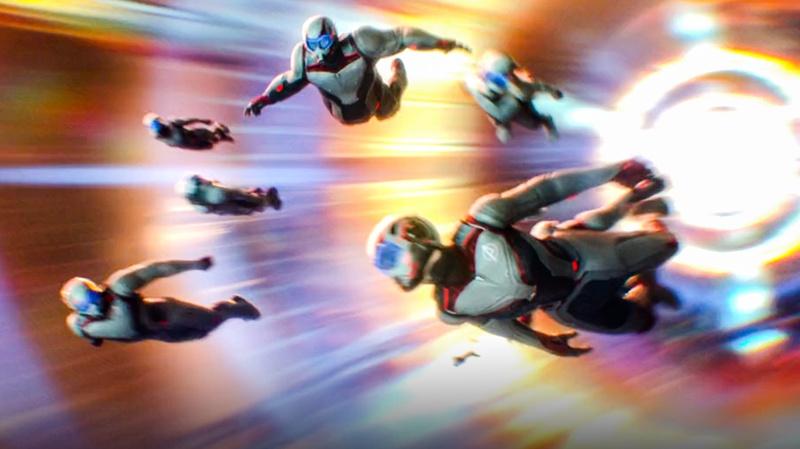 Avengers Endgame Time Travel