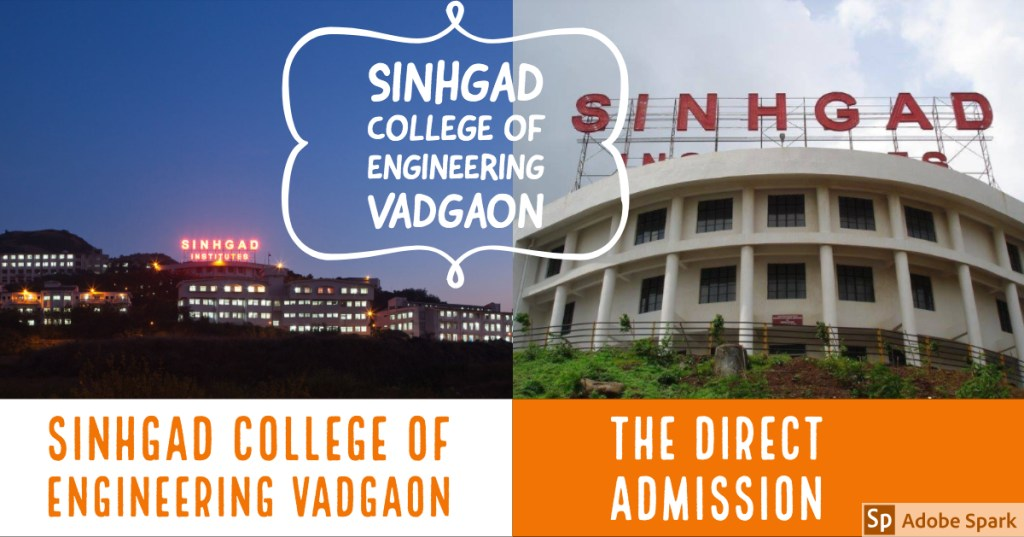 Direct Admission in Sinhgad College of Engineering Vadgaon