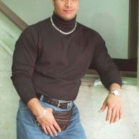 (PHOTO) Throwback Thursday: 1990's The Rock Rocks the Fanny Pack