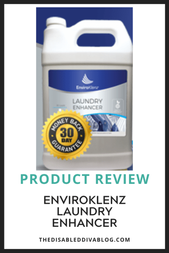Do you suffer from fragrance, chemical, and odor sensitivity? Then you need to read my review of EnviroKlenz Laundry Enhancer.