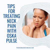 Tips for treating neck pain with Oska Pulse
