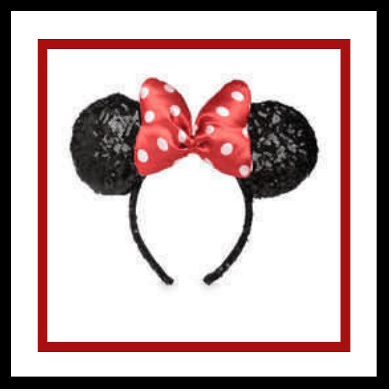 Disney Park Mickey Bow Minnie Ears Haunted Mansion Tightrope Girl Party Headband