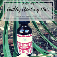 The Disabled Diva's Review of Earthley Elderberry Elixir