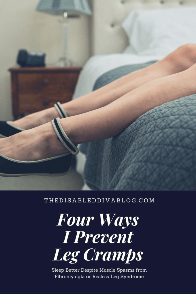 Are leg cramps from overuse, fibromyalgia and restless leg syndrome disrupting your sleep or making your life miserable? Discover the four methods I use for a muscle spasm free night's sleep.